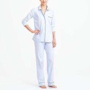 J Crew Long Sleeve Pajama Set